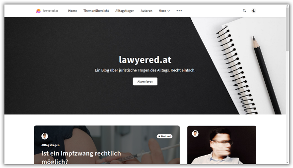 lawyered.at